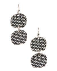 Simon Sebbag | Metallic Sterling Silver Prosecco Double Drop Earrings | Lyst