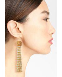 Vanessa Mooney - Metallic Antoinette Drop Earrings - Lyst