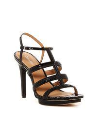 Calvin Klein | Black Valene Sandal | Lyst