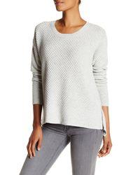 Madewell | Gray Windward Pullover Sweater | Lyst