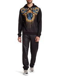 Versace - Black Print Sweatpant for Men - Lyst