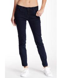Kensie - Blue Ankle Biter Skinny Jean - Lyst