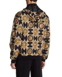 Versace - Black Baroque Zip Jacket for Men - Lyst