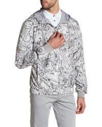 Versace | Gray Reversible Zip Jacket for Men | Lyst