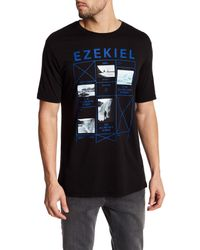 Ezekiel | Black Pratt Tee for Men | Lyst