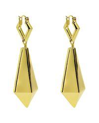 Noir Jewelry | Metallic Macbeth Drop Earrings | Lyst