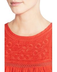 Madewell - Multicolor Embroidered Swing Tank - Lyst