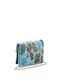 Oscar de la Renta - Blue Petite Evening Bag - Lyst
