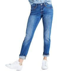 Madewell   Blue The Slim Boyjean Boyfriend Jeans   Lyst