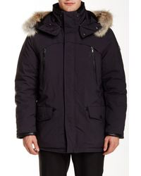 Tumi - Multicolor Genuine Coyote Fur Trimmed Fully Loaded Parka for Men - Lyst