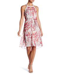 T Tahari - Red Zadie Dress - Lyst
