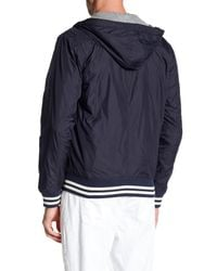 Flag & Anthem - Blue Rockland Nylon Hooded Jacket for Men - Lyst