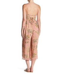 Patrons Of Peace - Pink Lace-up Jumper - Lyst