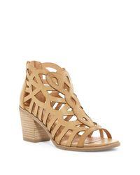 Report - Brown Florette Caded Sandal - Lyst