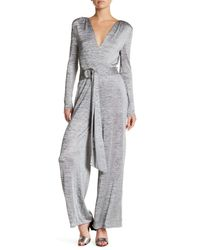 Finders Keepers - Gray Maxwell D-ring Belt Jumpsuit - Lyst