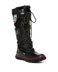 Pajar | Black Grip Tall Faux Fur Waterproof Boot | Lyst