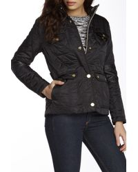 Vince Camuto | Black Quilted Jacket | Lyst