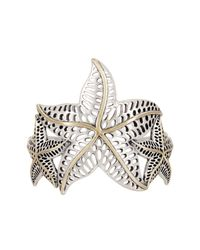 Lucky Brand | Multicolor Starfish Bold Cuff | Lyst