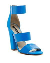 Michael Antonio | Blue Joxy Heel Sandal | Lyst