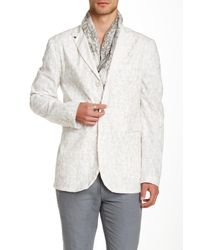 John Varvatos | White Four Button Jacket for Men | Lyst