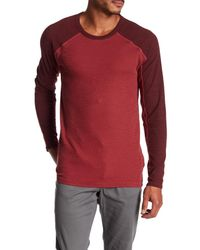 Agave - Red Lookout Long Sleeve Slub Tee for Men - Lyst
