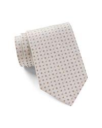 Calvin Klein - Multicolor Silk Ribbed Duo Dot Tie for Men - Lyst