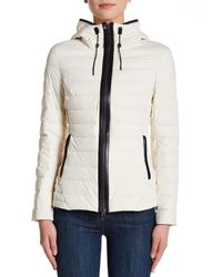 Mackage - White Fitted Packable Jacket - Lyst