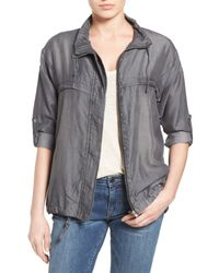 Kut From The Kloth | Gray Nia Utility Jacket | Lyst