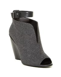 Kenneth Cole - Gray Broome Wedge Bootie - Lyst