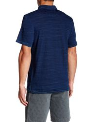 Faherty Brand - Blue Jersey Beach Polo for Men - Lyst