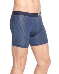 Michael Kors - Blue Graphic Print Stretch Boxer Briefs for Men - Lyst