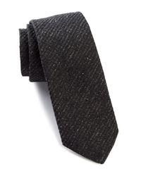 John Varvatos - Multicolor Noil Silk Tie for Men - Lyst