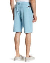 Billabong - Blue Crossfire X Slub Short for Men - Lyst