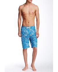 Victorinox - Blue Island Printed Board Short for Men - Lyst