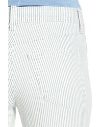 NYDJ - Multicolor Nichelle Stretch Slim Roll Cuff Ankle Jean - Lyst