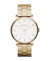 Marc Jacobs | Metallic Women's Baker Bracelet Watch | Lyst