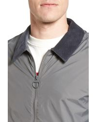 Barbour - Gray Lundy Tailored Fit Jacket for Men - Lyst