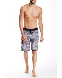 RVCA - Gray Eastern Hawaii Board Short for Men - Lyst