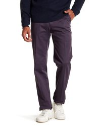 Peter Millar | Multicolor Raleigh Washed Twill Solid Pants for Men | Lyst
