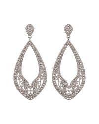 Nadri - Multicolor Ankara Open Drop Earrings - Lyst