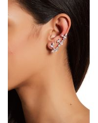 Nadri - Metallic Lumiere Cz Ear Cuff Crawler Earrings - Lyst