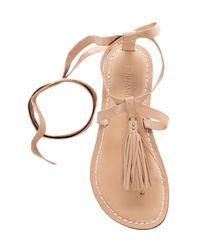 Bernardo - Multicolor Footwear Mosie Tassel Sandal - Lyst