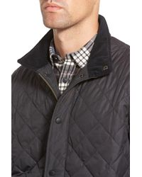 Barbour - Blue 'chelsea' Regular Fit Quilted Jacket for Men - Lyst