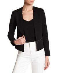 NYDJ - Black Zip Waist Jacket - Lyst