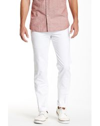 Peter Millar - White Raleigh Contemporary Fit Pant for Men - Lyst