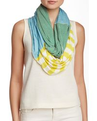 Michael Stars | Multicolor Pin Stripe Eternity Scarf | Lyst