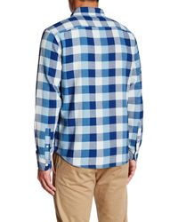 Faherty Brand - Blue Seasons Shirt for Men - Lyst