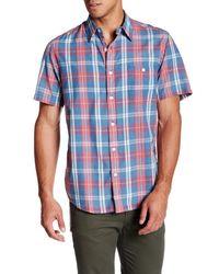 Faherty Brand | Blue Seaview Short Sleeve Shirt for Men | Lyst