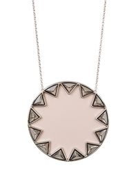 House of Harlow 1960 - Multicolor Sunburst Pyramid Pendant Necklace - Lyst