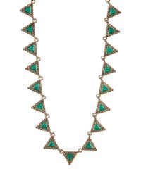 House of Harlow 1960 | Multicolor Native Legend Collar Necklace | Lyst